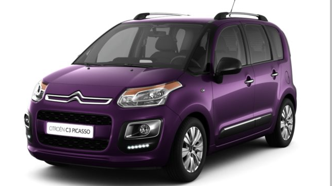 citroen c3 picasso 2 1 2 puretech 110 feel edition neuve. Black Bedroom Furniture Sets. Home Design Ideas