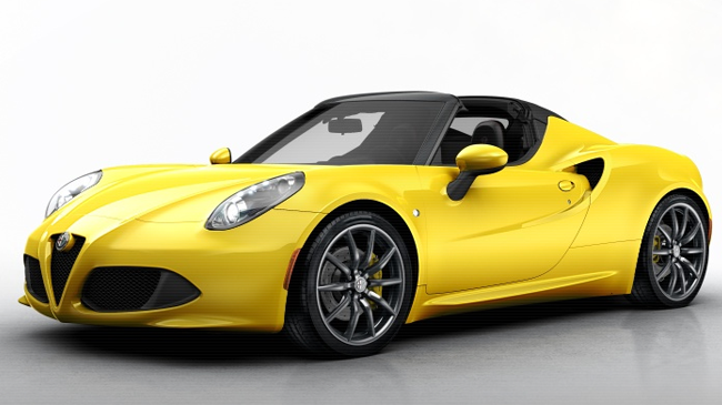 alfa romeo 4c spider spider 1750 tbi 240 neuve essence 2 portes levallois perret le de france. Black Bedroom Furniture Sets. Home Design Ideas