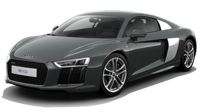 audi r8 2e generation ii v10 plus 5 2 fsi 610 quattro s tronic neuve essence 2 portes aix en. Black Bedroom Furniture Sets. Home Design Ideas