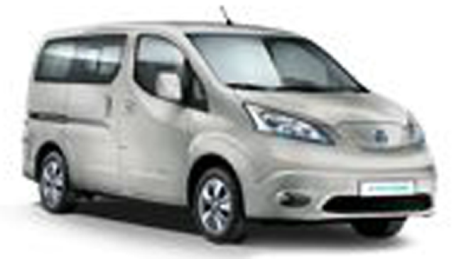 nissan e nv200 evalia 109hp electric n connecta neuve. Black Bedroom Furniture Sets. Home Design Ideas