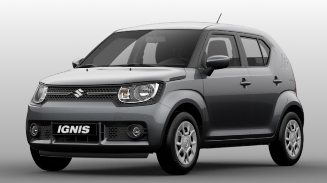 suzuki ignis neuve pas ch re achat ignis en promo. Black Bedroom Furniture Sets. Home Design Ideas