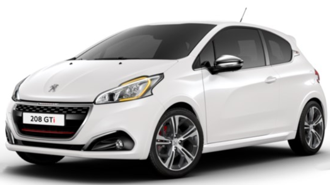peugeot 208 gti 2 1 6 thp 208 s s gti 3p neuve essence 3 portes arras hauts de france. Black Bedroom Furniture Sets. Home Design Ideas